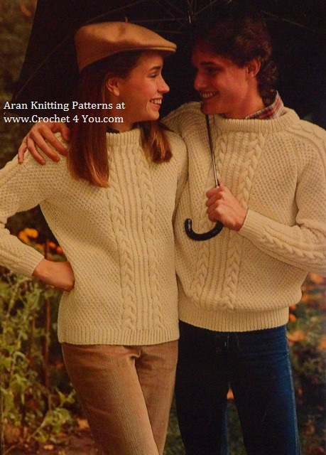 his her aran sweaters