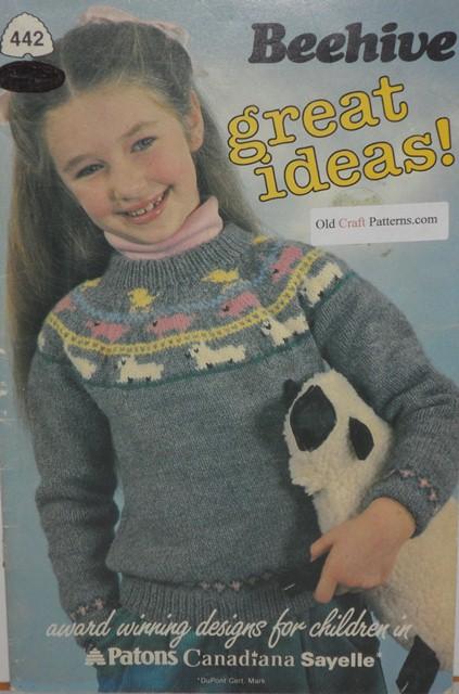 Patons Knitting Patterns Children : knitting great ideas patons patterns book no 442 - Crochet4you.com