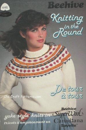 Patons Chunky Knit Family Sweaters Original Patternscrochet4you
