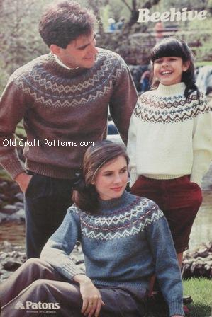 childrens sweaters pattern