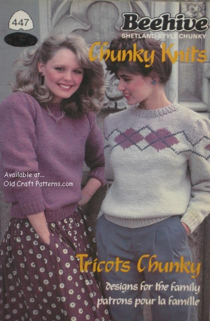 adult knitting patterns