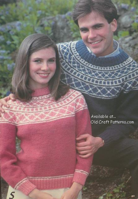 fairisle pullovers