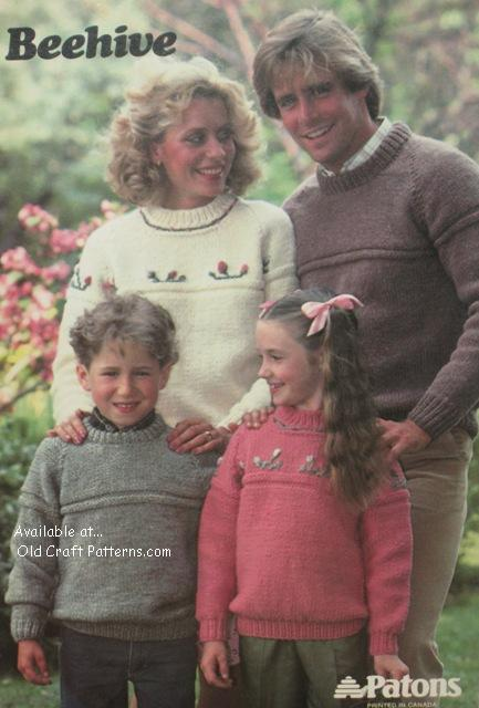 easy family sweaters