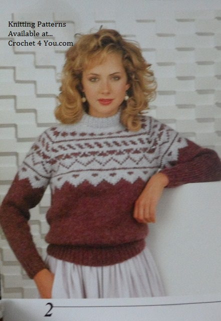 knitted patons diana knitting patterns book no 449- www.crochet4you.com