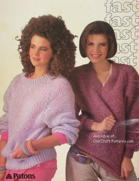 quick knit sweaters