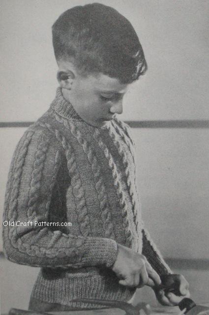 aran pullover
