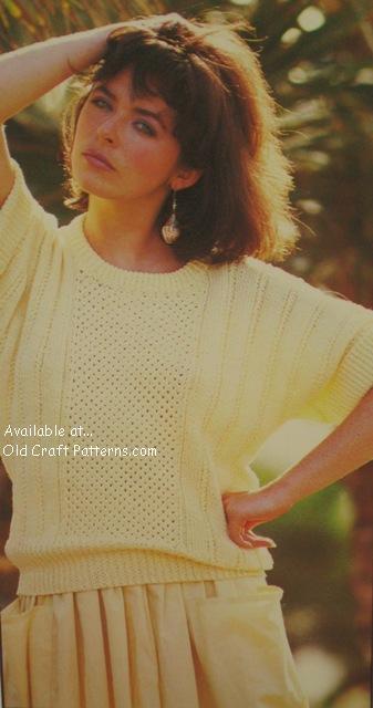 doman sleeve sweater