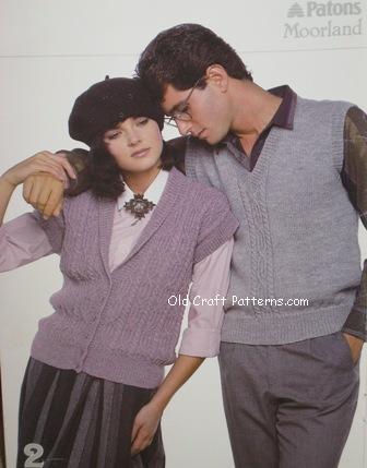 aran his her sweaters