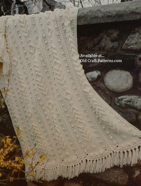 crochet zig zag afghan