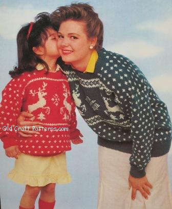 Knitting Patterns For Young Knitters : patons 607 Young at heart knitting patterns book at www ...