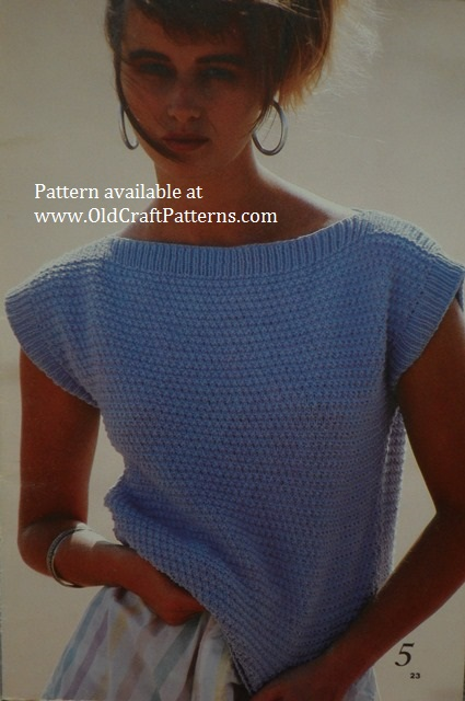 puffed sleeved pattern