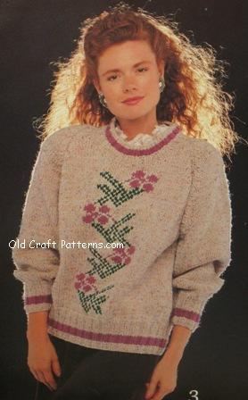 sweater knitting