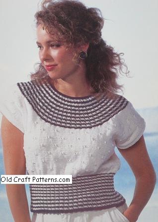 nautical look sweater