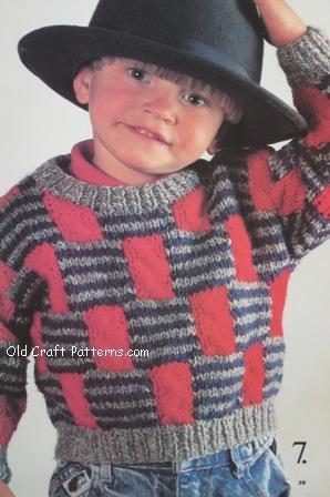 block knits