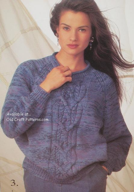 patons 690 cotton colours knitting patterns for his and her sweaters ...