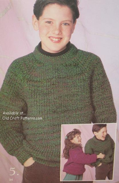 kids sweater pattern