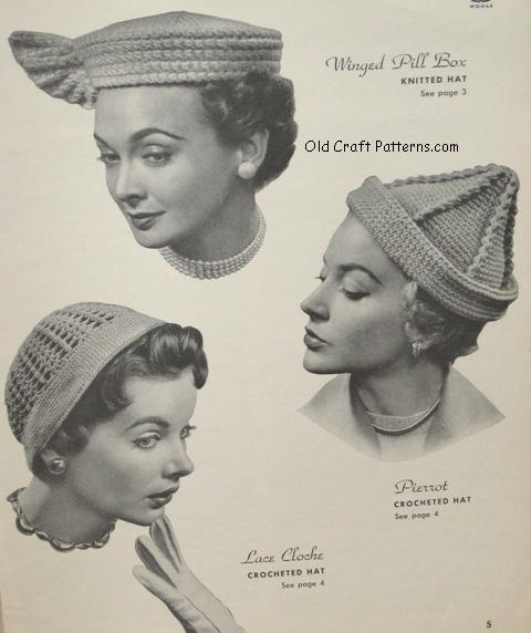 pill box & cloche hats