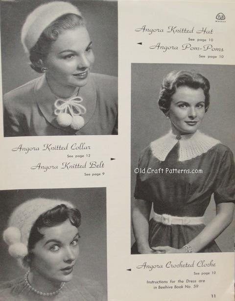 angora knitting patterns
