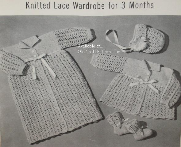 Patons 78 Vintage Handknits For Babies Baby Crochet And Knitting