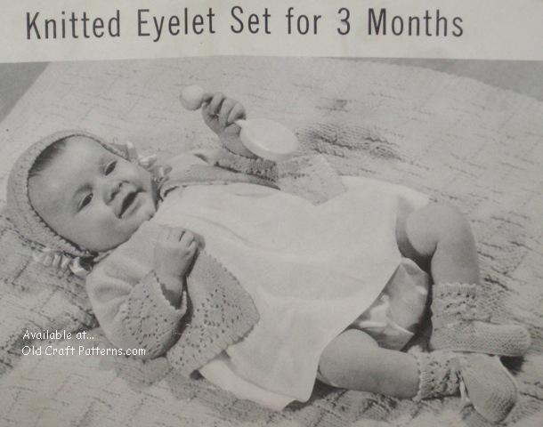 baby knitting christening dresses