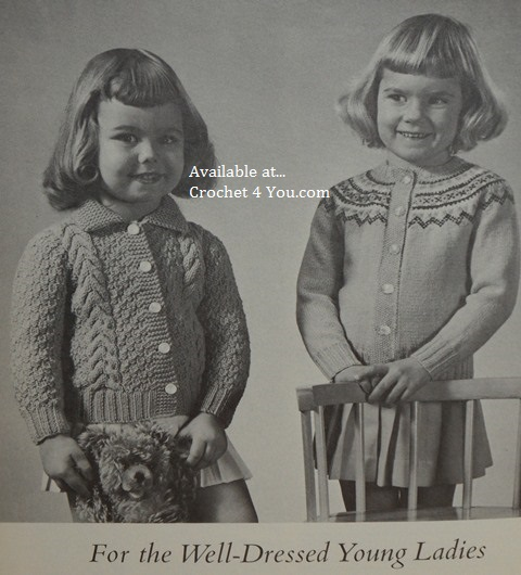 girls sweater patterns