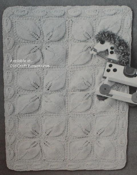 baby knit blanket pattern