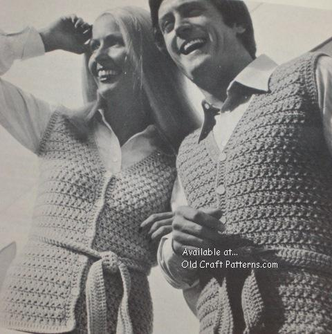 crochet vest patterns