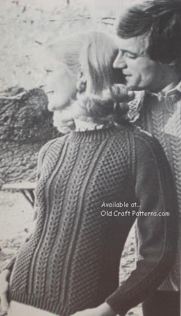 aran knit sweaters