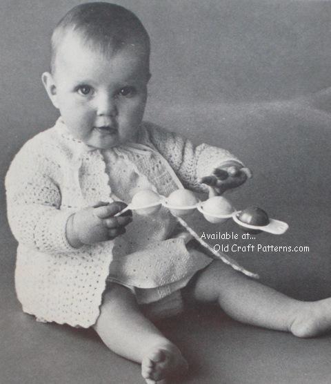 crochet babys set