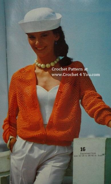 filet crocheted