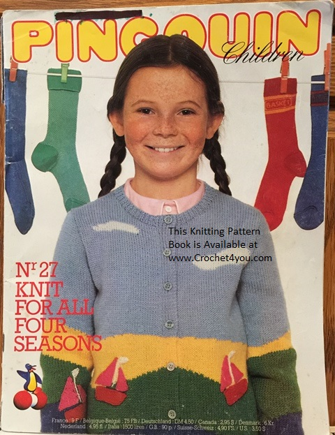 Childrens Kids Youngsters Original Knitting Patterns At Www