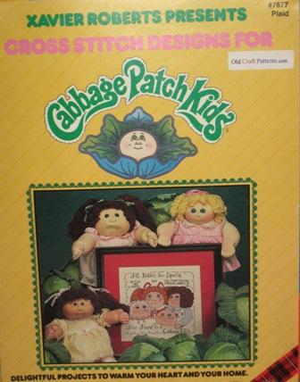 cabbage patch cross stitch