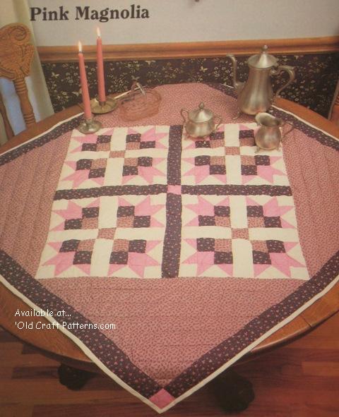 pink magnolia pattern