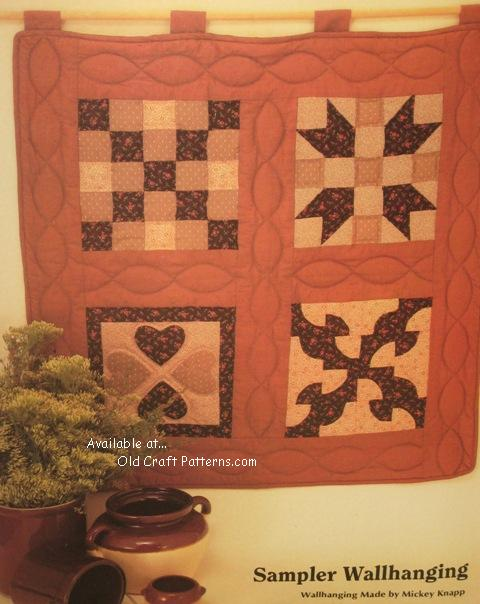 sampler wallhanging