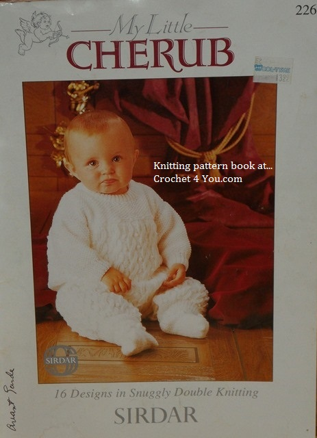 Sirdar Knitting Pattern Books Baby : www.crochet4you.com/babys knitted clothes and afghans patterns
