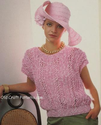 Knitting Patterns For Ladies Summer Tops Comsar For