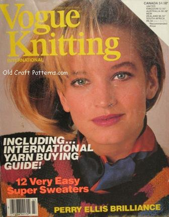 vogue knitted patterns