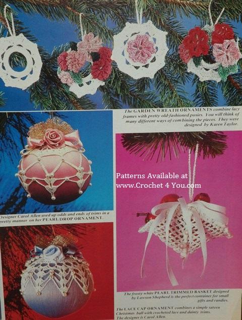crochet ornaments