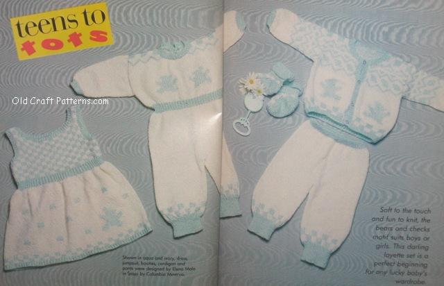 baby knit layette