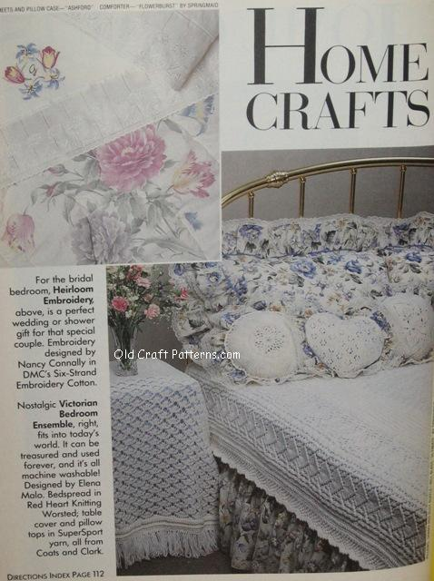 victorian bedroom patterns