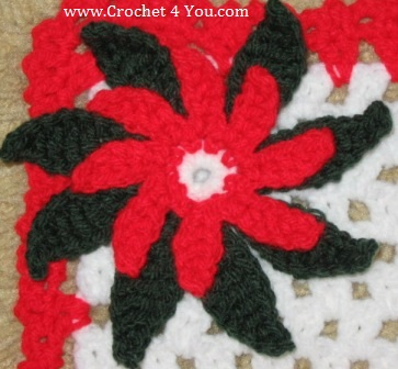 free poinsettia crochet pattern