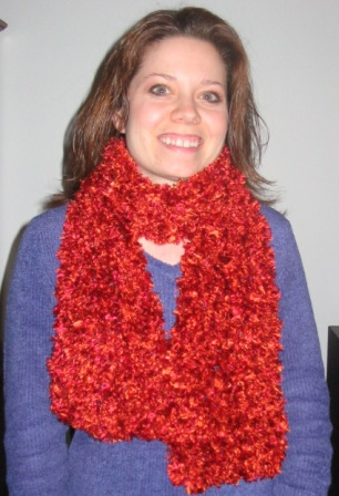 free crochet fun scarf pattern