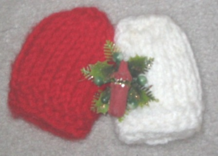 free christmas bell knitting Pattern