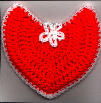 Free Crochet Heart Pattern - Planet M Files